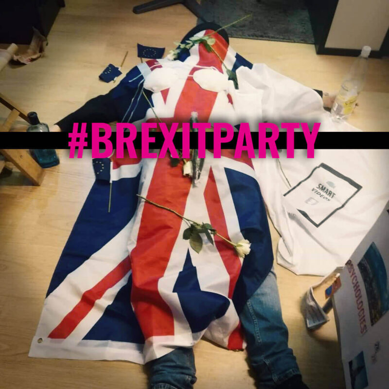 Brexit Party, official post live event poster