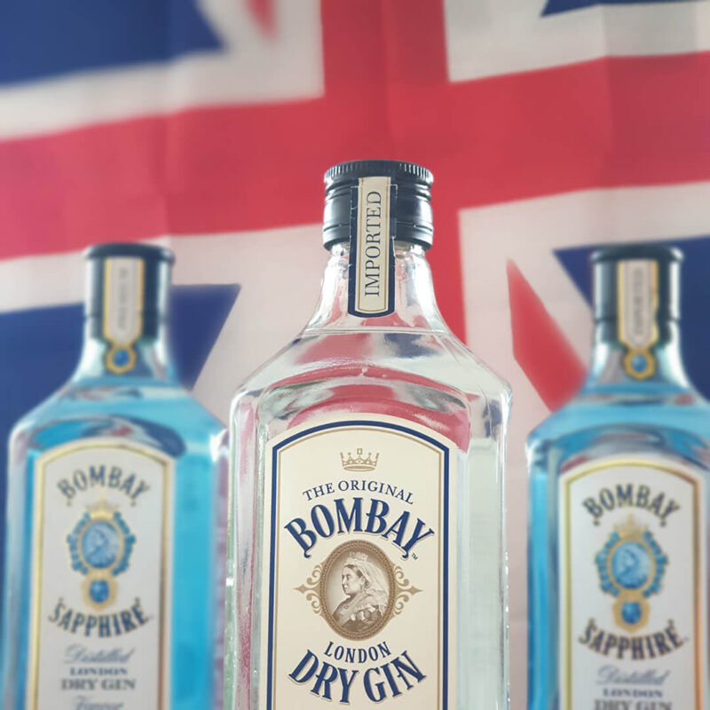 The official gin used for our hybrid live show, streaming from the capital of Europe